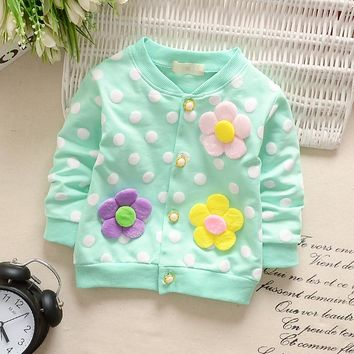 Baby Girls Print Outerwear Clothing