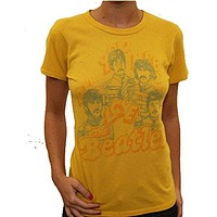 Junk Food Originals Womens The Beatles All You Need is Love T-Shirt