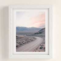 Morgan Phillips Dusty Road Art Print   Urban Outfitters