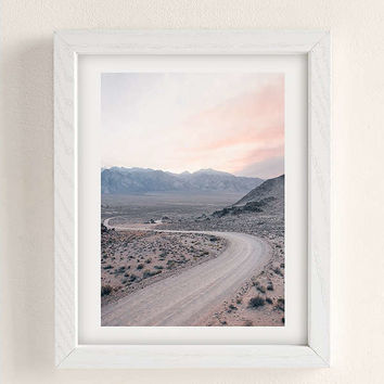 Morgan Phillips Dusty Road Art Print | Urban Outfitters
