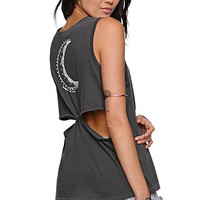 Kendall & Kylie Twist Back Muscle Tank at PacSun.com