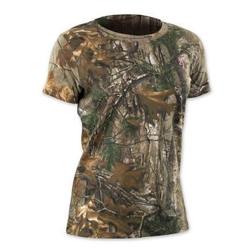 Browning Women's Wasatch For Her Short Sleeve T-Shirt