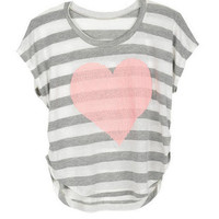 Heart Stripes Tee