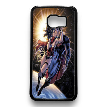 Wonder Woman and Superman Samsung Galaxy S6 Case