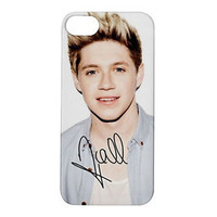 ONE DIRECTION Niall Horan Autograph Apple iPhone 5S Cover Case