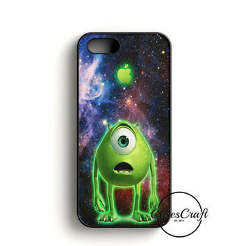 Monster Inc Mike Glowing Alien iPhone 5/5S/SE Case