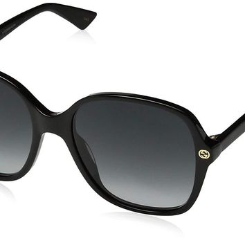 Gucci GG0092S Square Sunglasses Size 55 mm
