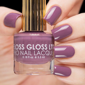 Floss Gloss Mauve Wives Nail Polish