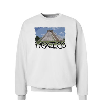 Mexico - Mayan Temple Cut-out Sweatshirt