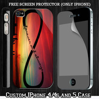 Galaxy Infinity Love Custom iPhone 4 4S case, iPhone 5 Case, Samsung Galaxy S2 case, Samsung Galaxy S3 case