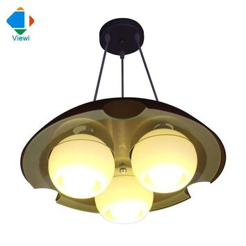 Modern European Fashion Creative Dining Room Lamp E27*3pcs Lampshade Frosted Glass Decorative Ceiling Light Free DHL