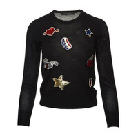 Embroidered Classic Sweater - Marc Jacobs