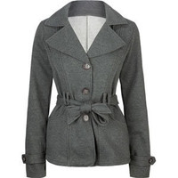 FULL TILT Womens Belted Trench Coat 203591110 | Jackets | Tillys.com