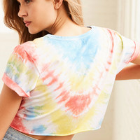 BDG Hang Tight Knotted Tee   Urban Outfitters
