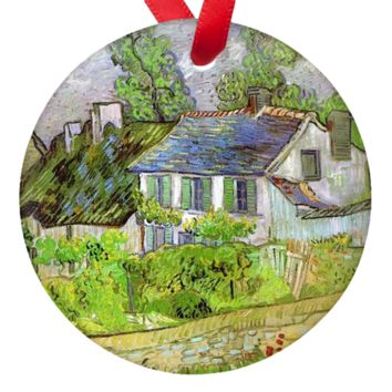 Vincent Van Gogh Cottage Porcelain Ornaments