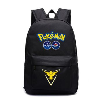 Anime Backpack School Pocket Monster Knapsack Pokemon Go kawaii cute Game Women and Men Shoulder Bag College Style Young Girl and Boy Students' Schoolbag AT_60_4