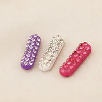 Rhinestone Home Button Sticker For Samsung Galaxy Note S2 S3 S4 S5 US01