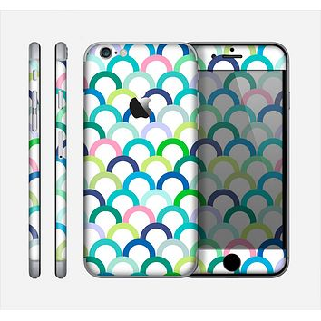 The Vibrant Fun Colored Pattern Hoops Skin for the Apple iPhone 6