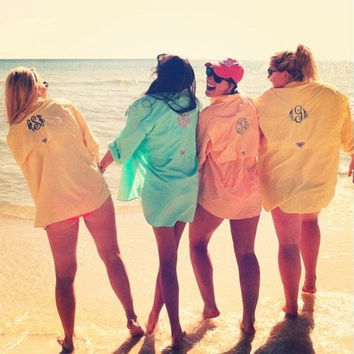 Monogrammed Fishing Shirts