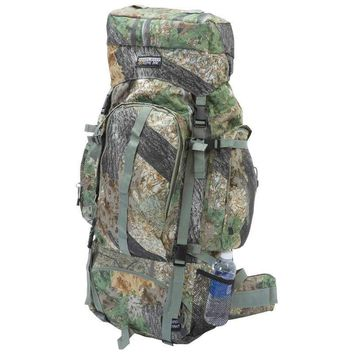 Camo Water-Resistant, Heavy-Duty Mountaineer's Backpack