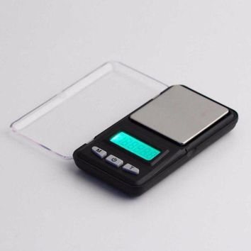 ICIK1IN new 500g 0 1g mini digital professional scale green backlight balance weight hot selling brand new