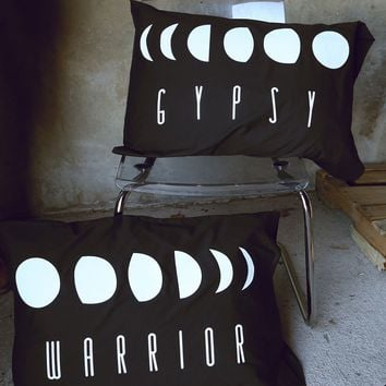 MOON PHASES PILLOW CASE SET