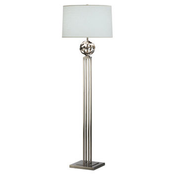 Lucy Collection Floor Lamp design by Robert Abbey