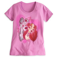 Disney Lady and the Tramp Tee for Women | Disney Store