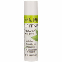 Sonya Dakar Lip Fitness Moisturizing Lip Balm Organic Mint Burst 0.15 oz