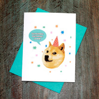 Doge Happy Birthday Reddit Meme Card