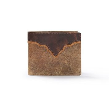 """Canyon"" Wallet In Brown"