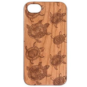 Turtle Pattern Phone Case
