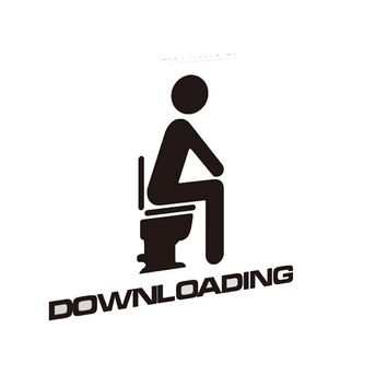 Downloading Toilet Home Vinyl Wall Decal Removable