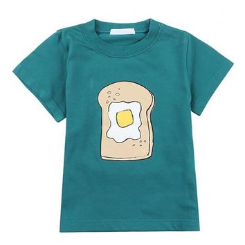 Toast and Egg Graphic Tee