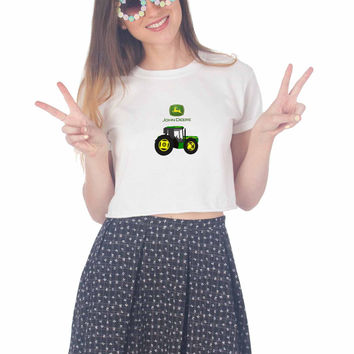 John Deere For Womens Crop Shirt **