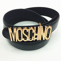 MOSCHINO letters Belt fashion wild candy candy belt Tagre™