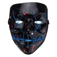 LED Light up Horror mask