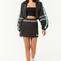Pony Cropped Windbreaker Jacket