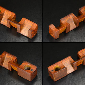EMBER OUT PIPES presents Box Kite • Cocobolo Wood • Includes 20 Screens