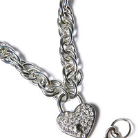 Funk Plus Chain Of Luv Pendant Silver One