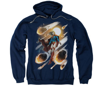 Supergirl New 52 Issue #1 Cover Mens Pullover Hoodie