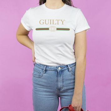 Guilty Rolled Cuff Shirt