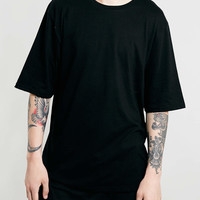 BLACK BOXY T-SHIRT - TOPMAN USA