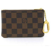 Louis Vuitton COIN PURSE BROWN KEY HOLDERS 001wallet Day-First™