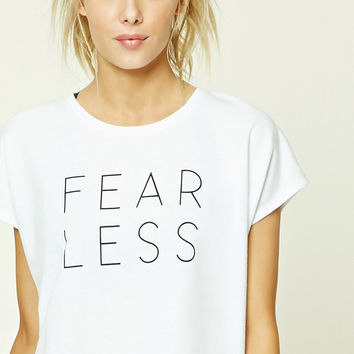 Active Fear Less Graphic Top