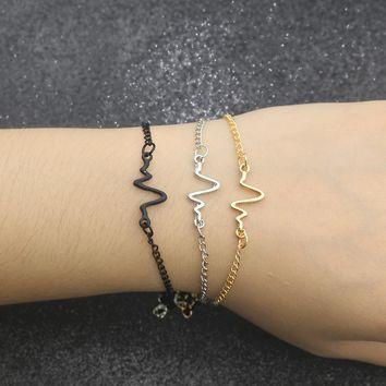 Stylish Heartbeat Bracelet...FREE... Just pay shipping