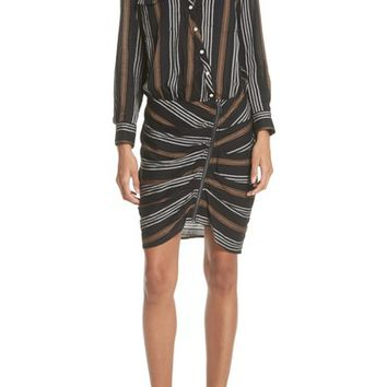 Veronica Beard Emory Stripe Shirtdress | Nordstrom