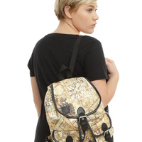 Harry Potter Maurader's Map Slouch Backpack
