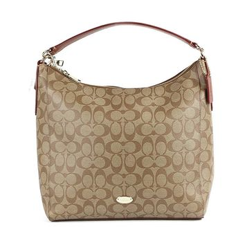 Coach Signature Convertible Satchel Crossbody Bag