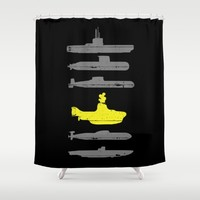 Know Your Submarines Shower Curtain by Resistance